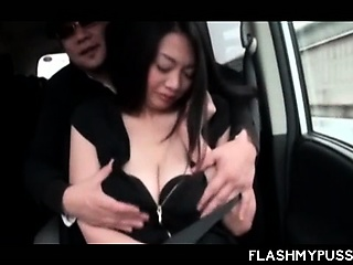 Big meloned Japanese amateur..