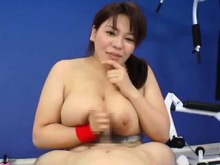Mizuki Ann has huge cans..