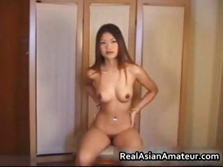 Real asian cutie strips with..