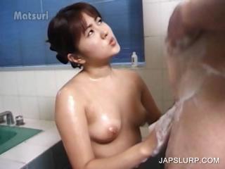 Asian sweety gets cardinal..