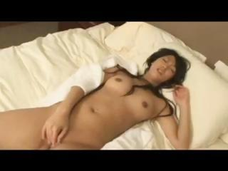 Asian gal dreams of his cock..