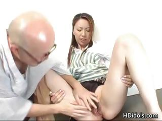Omoe Hinatsu Cooks Up Sex In..