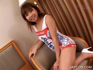 Asian redhead showing hot soul