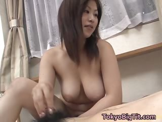 Busty Nana Masaki sperm..