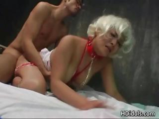 Yuki Takazawa Blond Bondage..