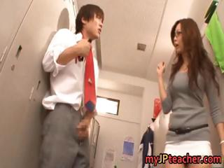 Kaori Hot Japanese teacher..