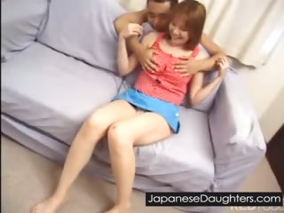 Cute japanese daughter..