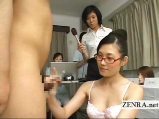 Bizarre milf Japan doctor..