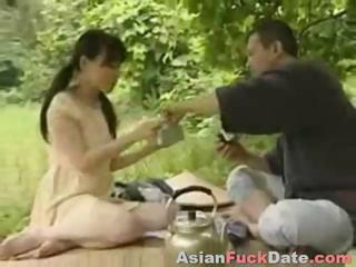 Horny Chinese husband and..
