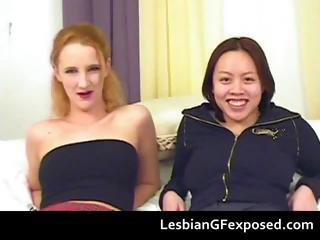 Toying lesbian girlfriends..