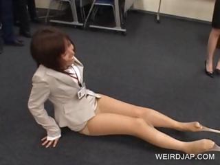 Fancy asians rapine stockings