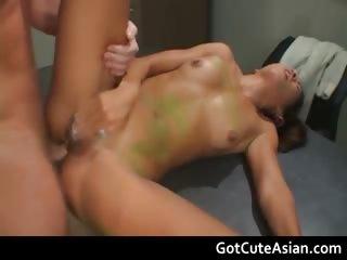 Super horny Asian hardcore..